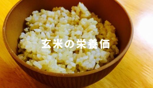 玄米の栄養価を白米と徹底比較!食物繊維・ビタミンEは6倍以上です